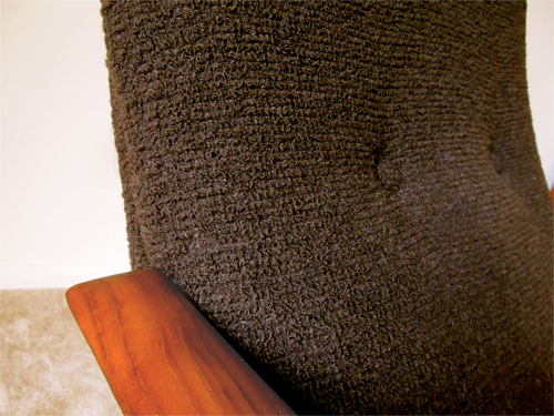 Danish Modern Teak Lounge Chair Modern Chair Restoration