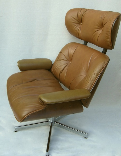 selig plycraft lounge chair and ottoman modern chair restoration