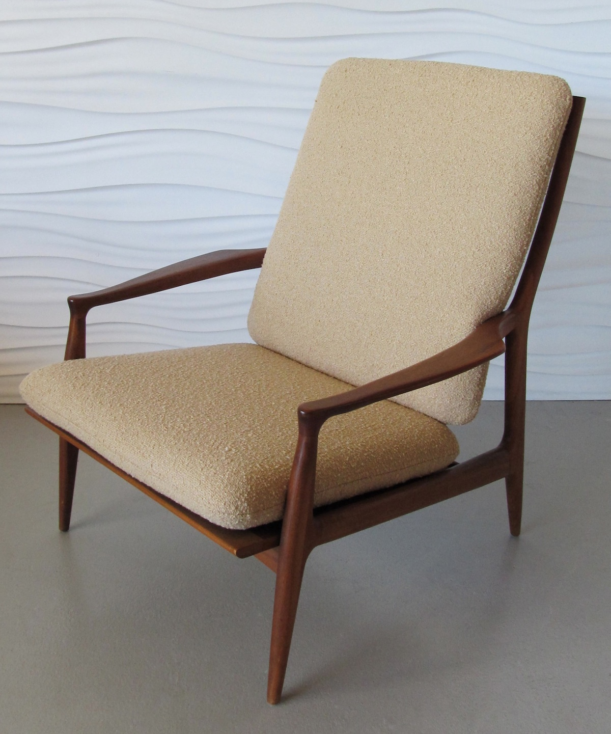 danish modern lounge chair modern chair restoration. Black Bedroom Furniture Sets. Home Design Ideas