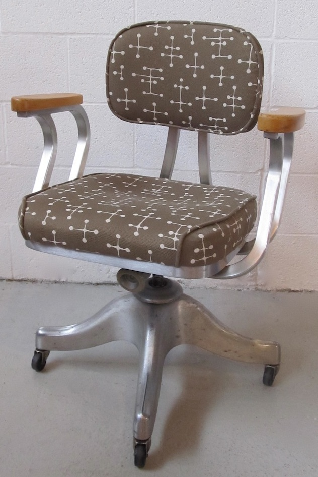 vintage shaw walker office chair modern chair restoration