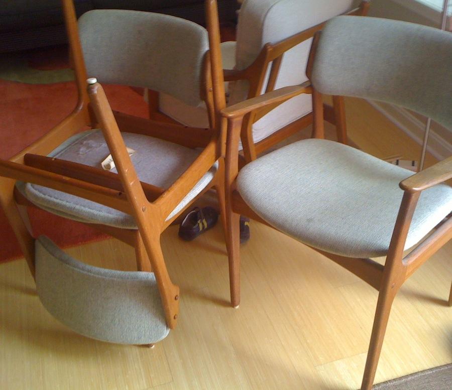 More Model 49 Chairs By Erik Buch Modern Chair Restoration