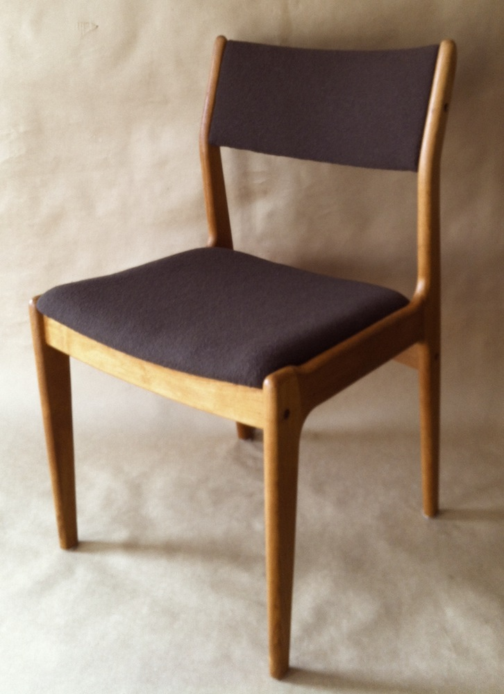 Danish modern teak dining chairs modern chair restoration for Modern room chairs